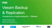La architectura de Veeam Availability Suite v8 en el mundo de VMware