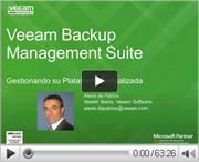 Veeam Management Suite: Gestionando su Plataforma Virtualizada