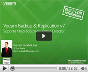 Soporte mejorado para vCloud Director con Veeam Backup & Replication v7