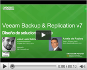 Diseña soluciones on-site con Veeam v7