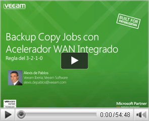 Backup Copy Jobs con Accelerador WAN Integrado