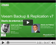 Veeam Backup & Replication v7 para diseñar entornos multi-site
