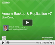 Veeam Backup & Replication v7 Live-Demo