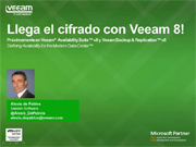 Cifrado con Veeam Availability Suite v8
