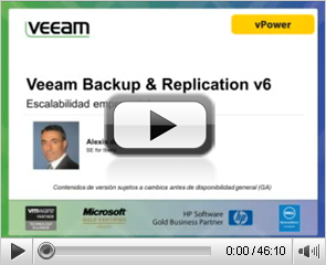 Veeam Backup & Replication v6 Escalabilidad empresarial
