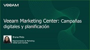 Veeam® Marketing Center: campañas digitales y planificación