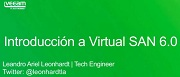 Introducción a Virtual SAN 6.0