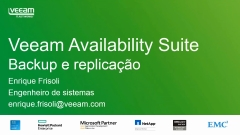 Veeam Availability Suite v9, nível 2: Backup e local externo