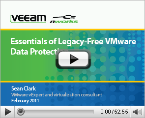 Essentials of Legacy-Free VMware Data Protection