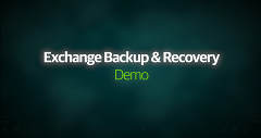 Demostración de backup y recuperación de Exchange