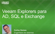 Novos Explorers para Microsoft SQL Server, Active Directory e Exchange