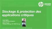 Stockage & protection des applications critiques