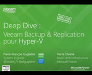 Deep dive : Veeam Backup & Replication pour Hyper-V