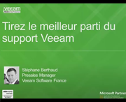 Tirez le meilleur parti du support Veeam
