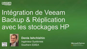 Intégration Veeam Backup & Replication et HP Storage