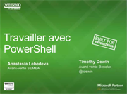 Powershell & Veeam. Partie II