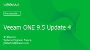 Veeam ONE : nouveautés de l'Update 4 et supervision d'applications