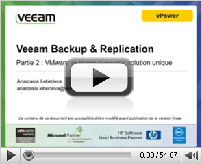 Veeam Backup & Replication VMware and Hyper-V en une solution unique