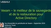 Le quart d'heure Veeam : Active Directory
