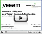 Gestione di Hyper-V con Veeam Backup & Replication