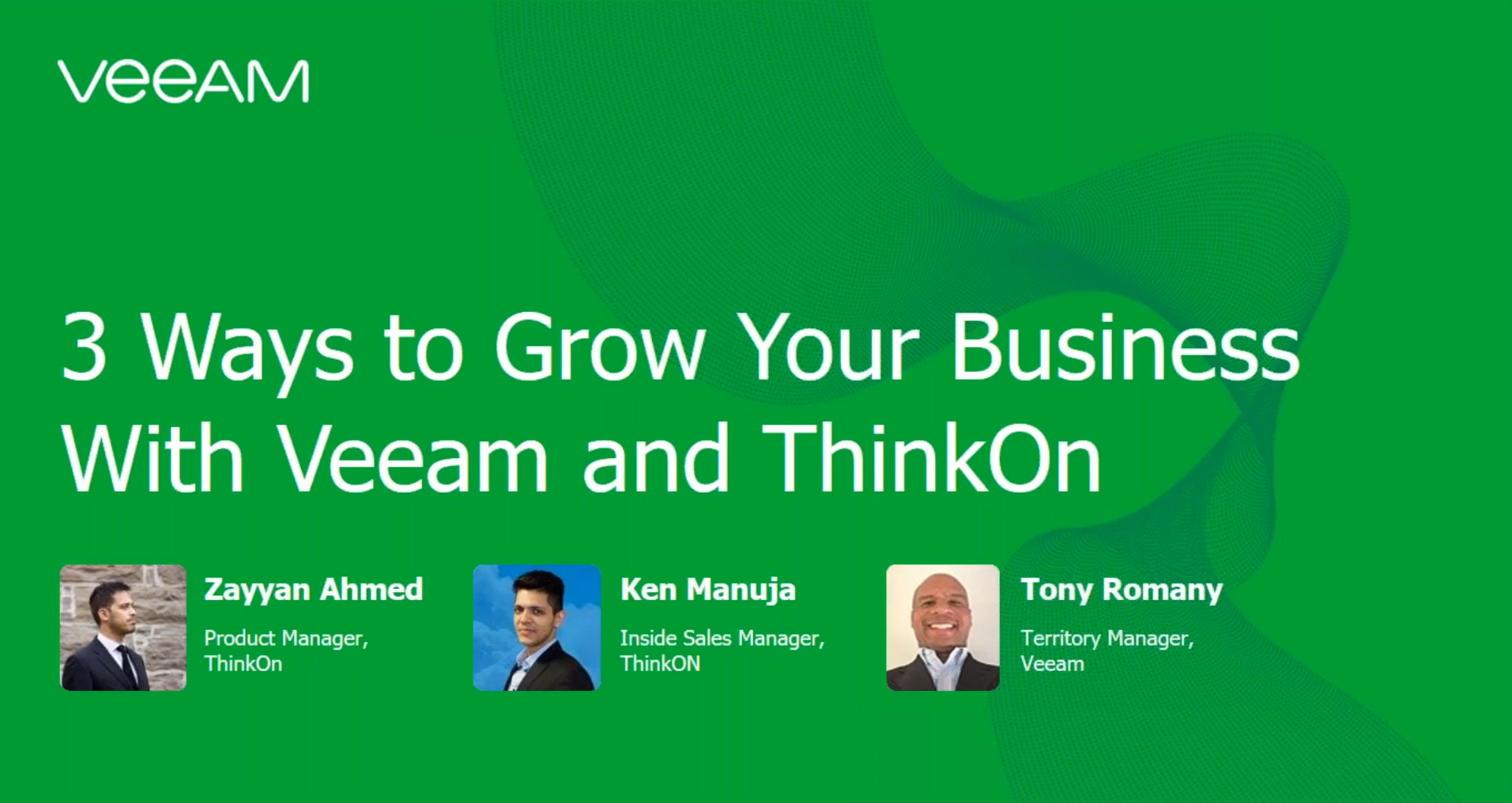 Three ways to grow your business with ThinkON