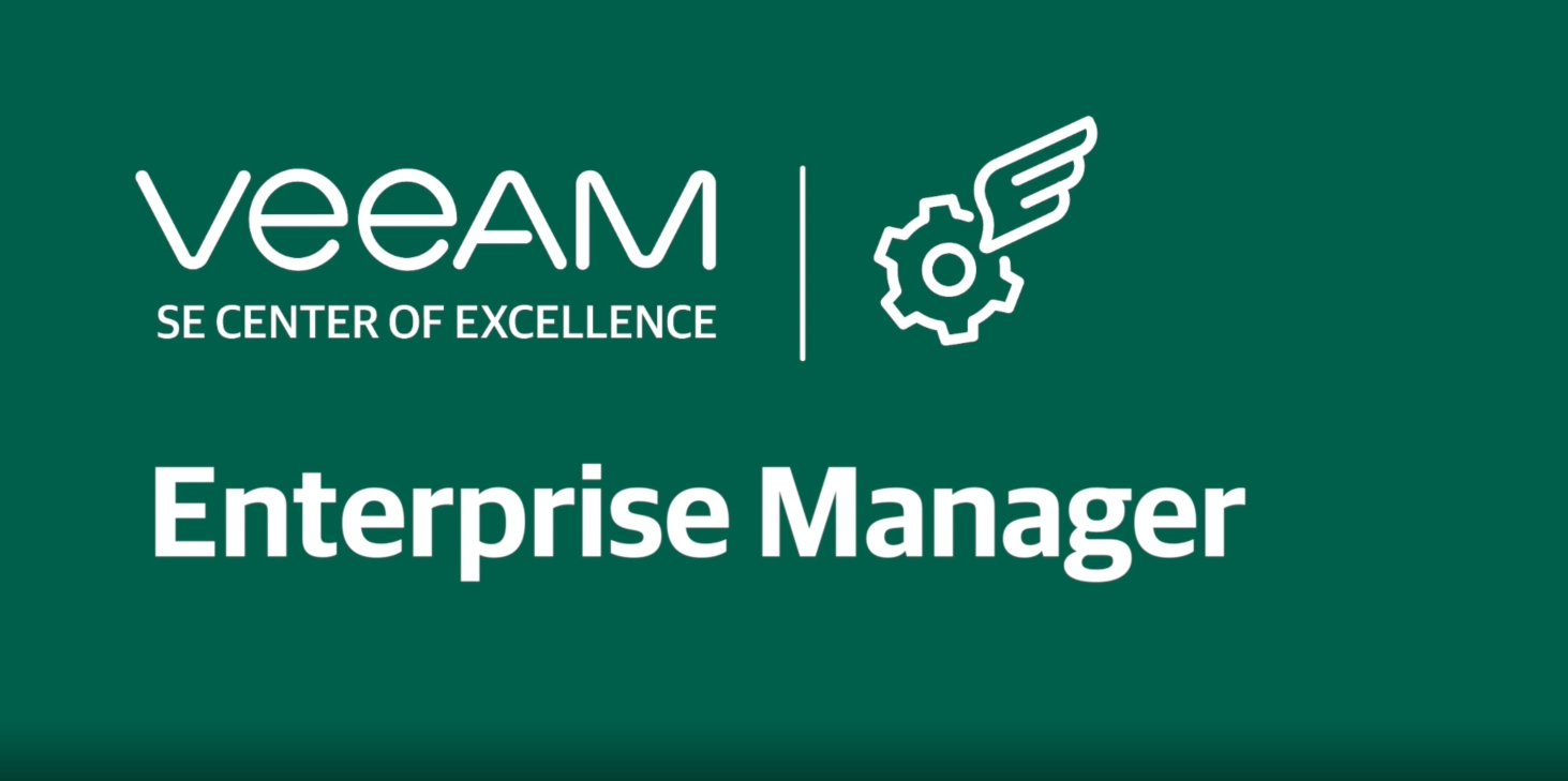 What is Veeam Backup Enterprise Manager and how can it help you?
