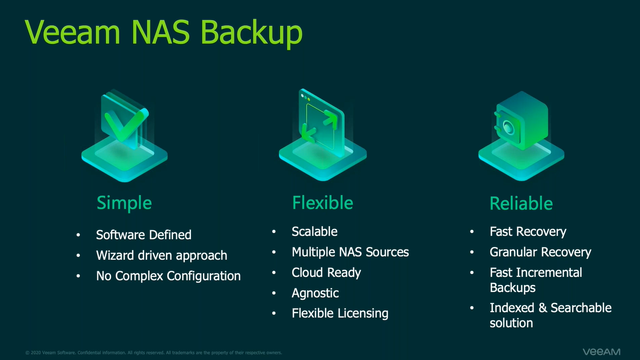 Unleash the power of NAS backup