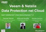 La Data Protection nel Cloud con Veeam & Netalia