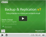 Veeam Backup & Replication:le Top Secret features finalmente rivelate! Il tempo stringe per passare alla Enterprise Edition!