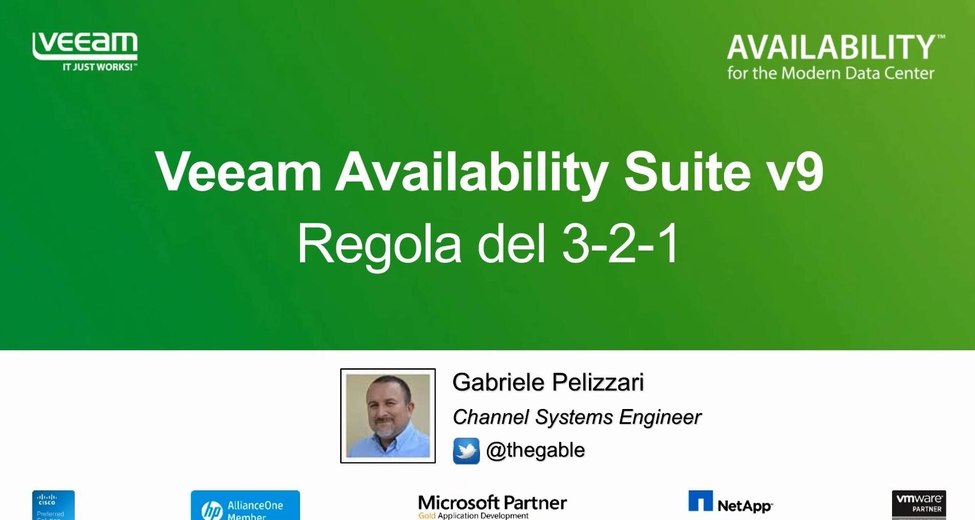 La Regola del 3-2-1: Uno dei segreti dell'Availability con Veeam