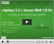 Le novità di VMware vSphere 5.5 e Veeam Backup & Replication 7.0 R2.