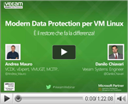 Modern Data Protection per VM Linux: è il restore che fa la differenza!