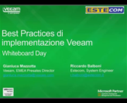 Whiteboard Day: Best Practices di implementazione di Veeam