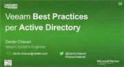 Best practices di Veeam per Active Directory