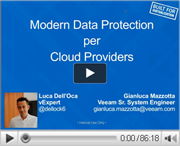Veeam Backup&Replicaton 7.0: Modern Data Protection per i Cloud Service Providers