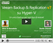 Veeam Backup & Replication v7 su HyperV: un unico backup per ogni tipo di restore!