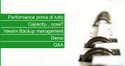 Performance Management e Capacity Planning avanzato con Veeam