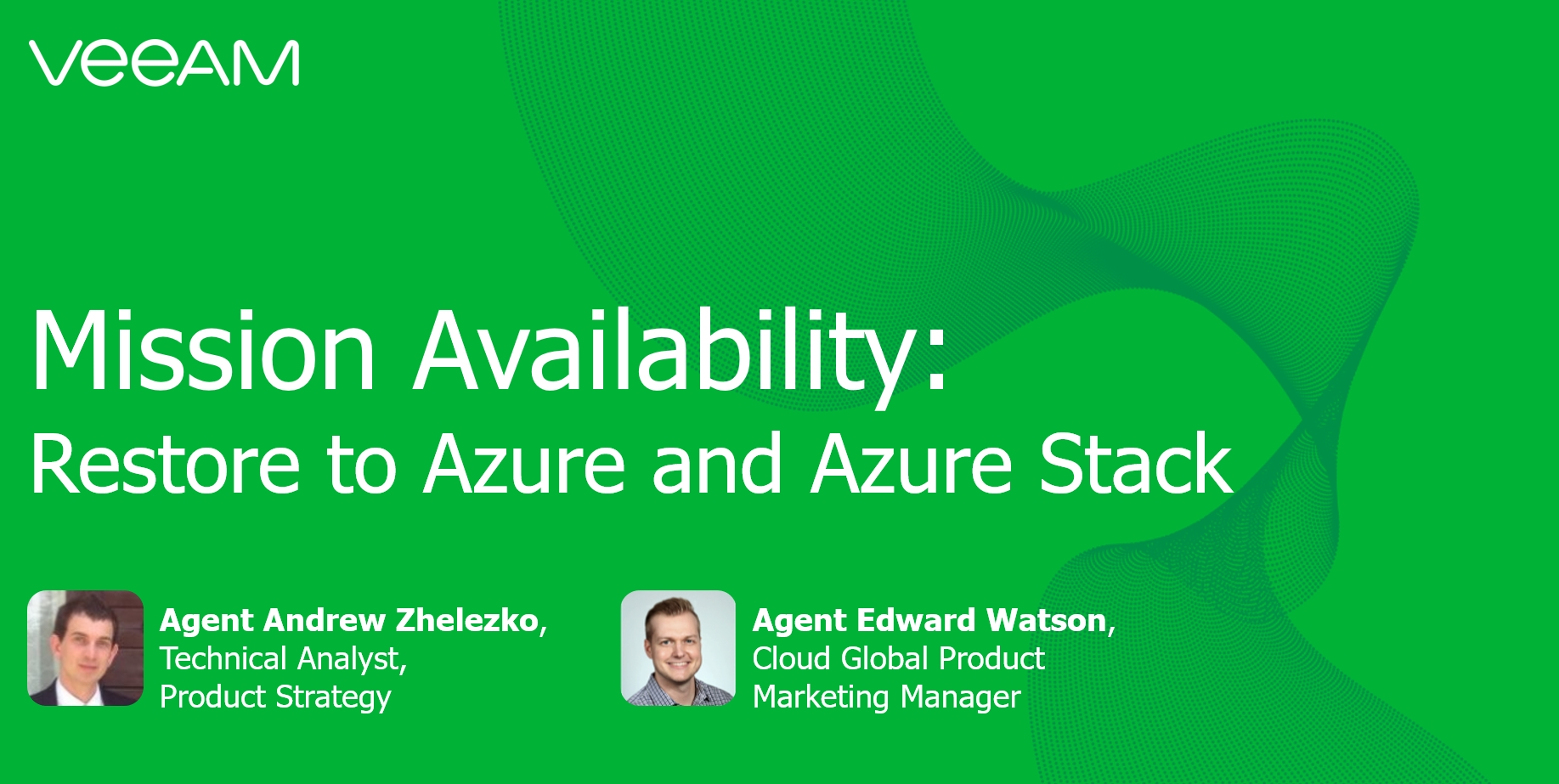 Mission Availability: Restore to Azure and Azure stack in 2 steps