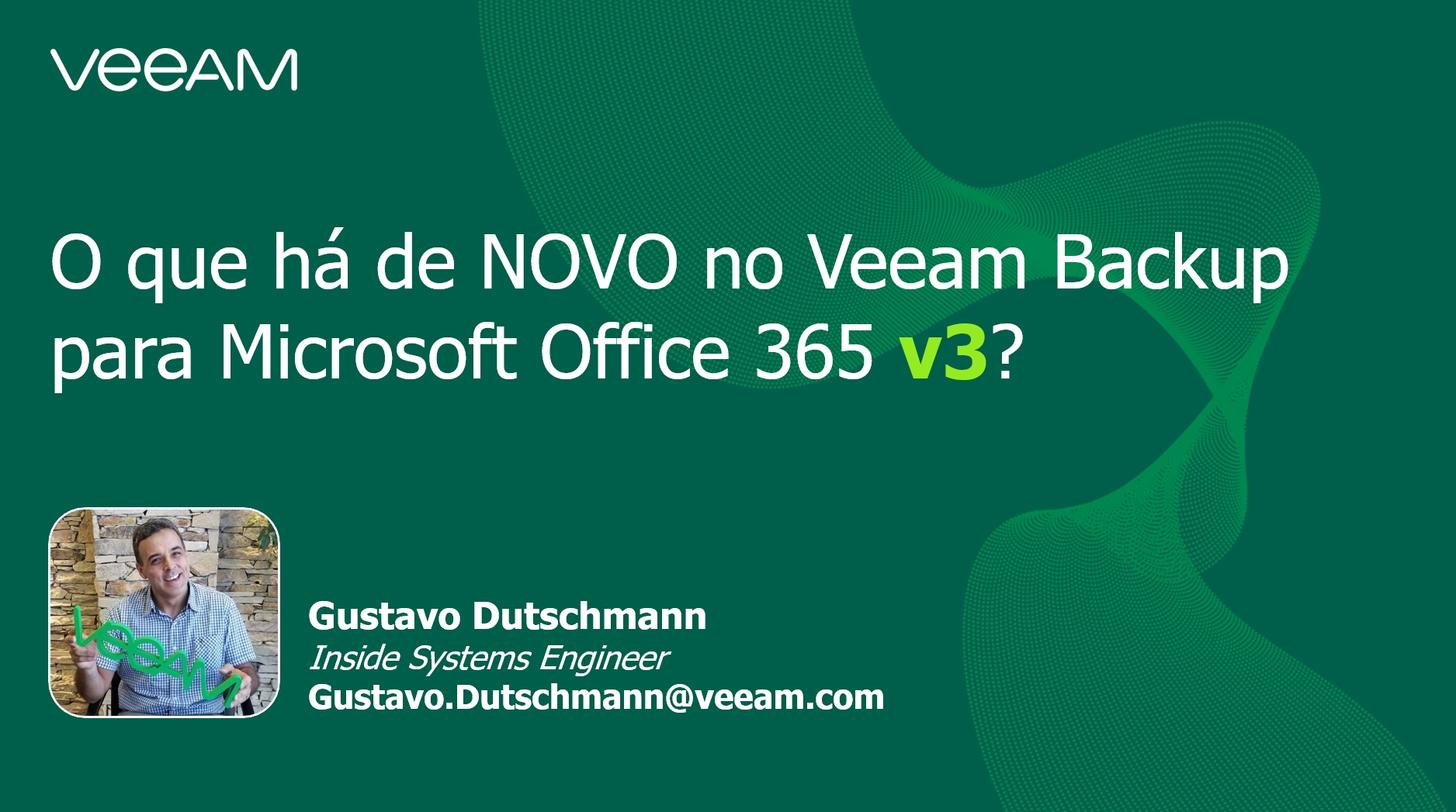 O que há de NOVO no Veeam Backup para Microsoft Office 365 v3?