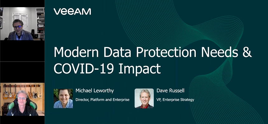 Modern data protection needs and COVID‑19 impact