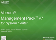 Veeam Management Pack v7: Libere o poder do System Center para vSphere e Hyper-V!