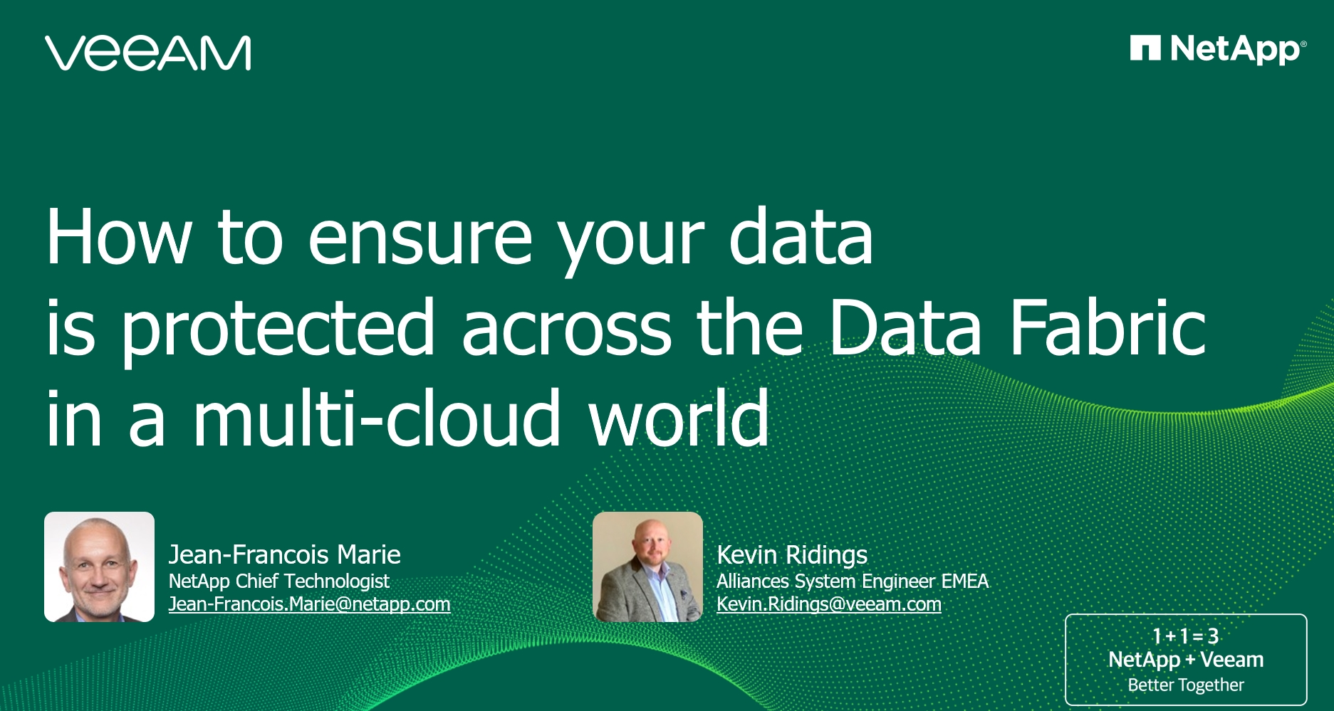 How to ensure your data is protected across the Data Fabric in a multi-cloud world