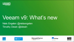 Hij is er! De NIEUWE Veeam Availability Suite v9