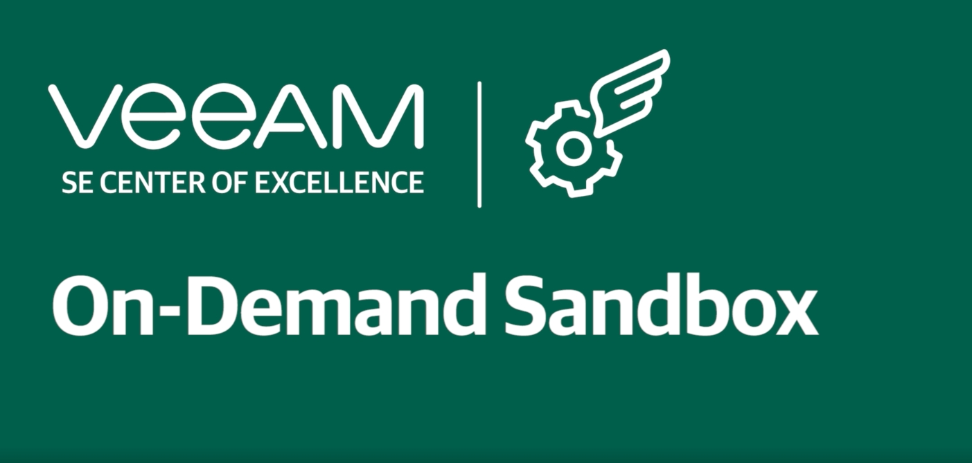 What is On-Demand SandBox and how you can use it?