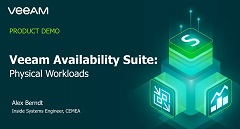 Veeam Availability Suite – Physical Workloads