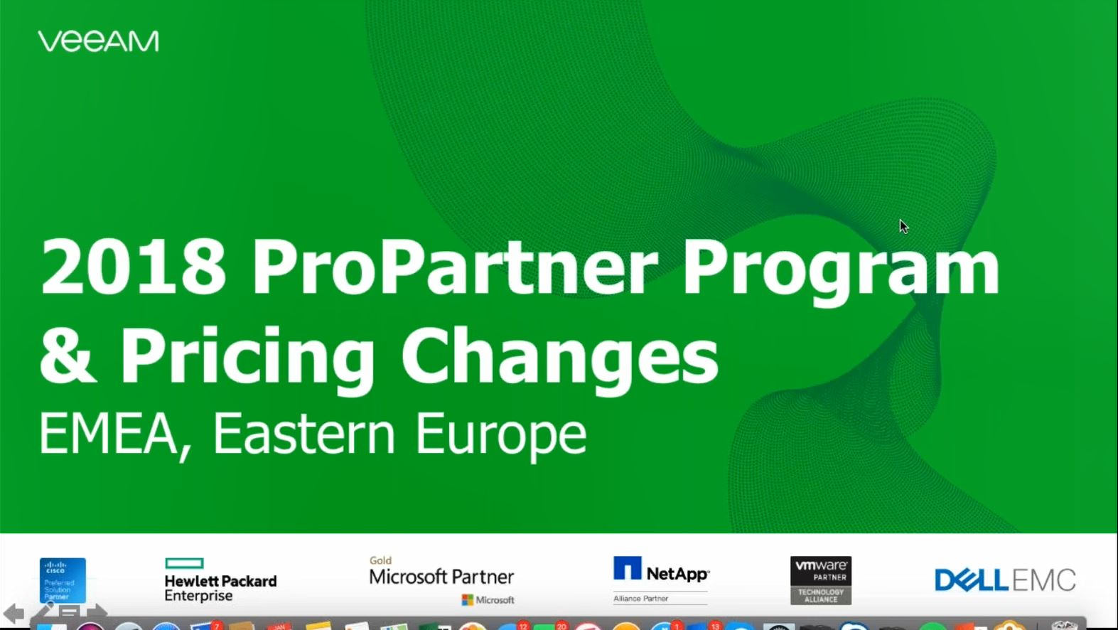 Baltics: Veeam ProPartner Briefing Q1 2018 on our way to $1Bln