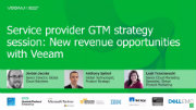 Service provider GTM strategy session: New revenue opportunities with Veeam