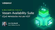 Veeam Availability Suite: novedades en v10