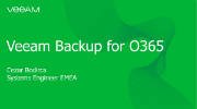 Novedades sobre Veeam Backup para Microsoft Office