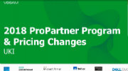 Veeam ProPartner Briefing Q1 2018 on our way to $1Bln